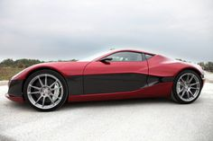 """According to Rimac Automobili, their all electric supercar will produce 1088 horsepower and 2800 ft/lbs of immediately available torque.    Dubbed the """"Concept One"""" the manufacturer claims the car will be able to reach a computer limited 190 MPH, and is designed to compete with the fastest and most expensive vehicles in the supercar world."""