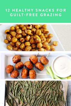 12 Healthy Snacks For Guilt-Free Grazing via @PureWow