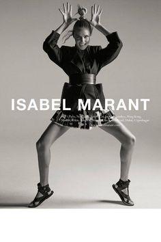 Isabel Marant's Spring 2015 campaign starring Natasha Poly: