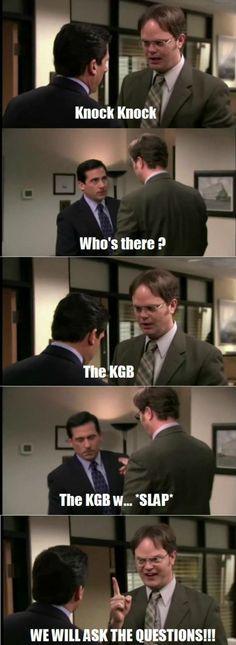 I love Dwight! :)