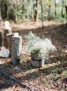 Woodland Wedding-Inspired Photo Shoot by Lauren Kinsey Fine Art Photography | Style Me Pretty