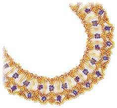Vanity Fair Necklace - A project from Bead-Patterns the Magazine Issue 37 (Sep/Oct 2011) Fall Issue