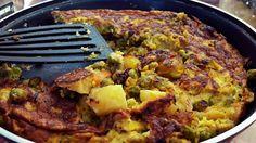 Ομελέτα με το υπόλοιπο από το λαδερό μας φαγητό, σήμερα με αρακά!!!! από την Αλεξάνδρα Σουλαδάκη http://www.donna.gr/14474/omeleta-me-to-ypolipo-apo-to-ladero-mas-fagito-simera-me-araka-apo-tin-alexandra-souladaki/  Πάντα όταν μαγειρεύουμε στο σπίτι και μας μείνει λίγο φαγητό, μπαίνει στο τάπερ και στο ψυγείο, για να