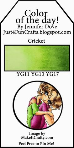 Copic Color Combo: Cricket