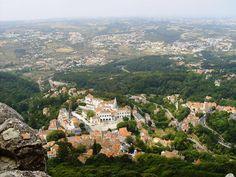 Vista da Vila a partir do Castelo de Sintra