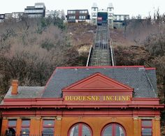 Duquesne Incline by Station Square