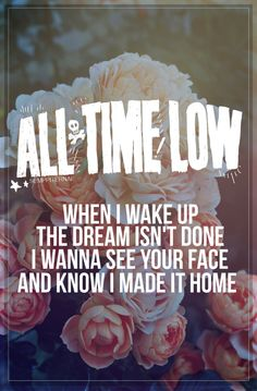 Painting Flowers, All Time Low