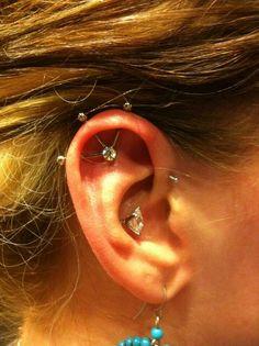 Tri-dustrial piercing