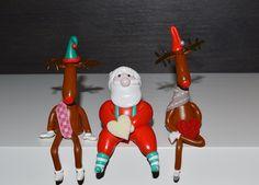 Conjunto renos y Papa Noel. Consigue el tuyo en www.idea.decoraconideas.com