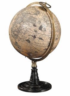 Elegant globe that would look great in a home office or library!