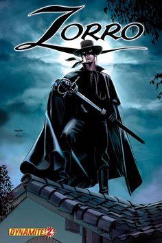 Zorro by Mike Mayhew Comic Book Characters, Comic Character, Comic Books, Tarzan, The Legend Of Zorro, Mejores Series Tv, Western Comics, The Lone Ranger, Tv Westerns