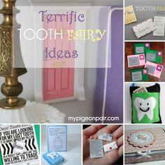 Tooth Fairy ideas, mypigeonpair.com