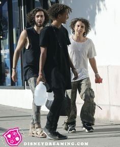 Moises Arias and Jaden Smith's grunge style!