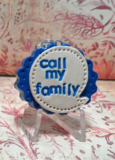 Call My Family Im Lost Personalized Pet ID Tag #cats #petidtags