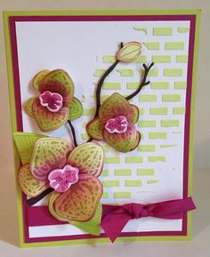 The Climbing Orchid Bundle from Stampin' Up!