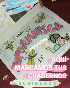 MARCAMOS TUS CUADERNOS  W app: 3024454241 #Bucaramanga #floridablanca #Girón #piedecuesta #cuadern - wiconshop