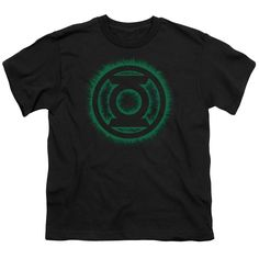 """Checkout our #LicensedGear products FREE SHIPPING + 10% OFF Coupon Code """"Official"""" Green Lantern / Green Flame Logo - Short Sleeve Youth 18 / 1 - Green Lantern / Green Flame Logo - Short Sleeve Youth 18 / 1 - Price: $29.99. Buy now at https://officiallylicensedgear.com/green-lantern-green-flame-logo-short-sleeve-youth-18-1"""