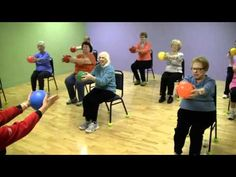 OT- ROM and strengthening arm exercises for seniors. Repinned by  SOS Inc. Resources  http://pinterest.com/sostherapy.
