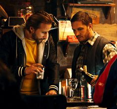 Tom Hardy with Matthias Schoenaerts    #The Drop