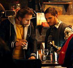 Tom Hardy with Matthias Schoenaerts    #The Drop