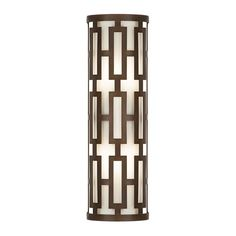 Fine Art Lamps 840081ST 2 Light ADA Outdoor Wall Sconce from the River Oaks Coll Dark Bronze Outdoor Lighting Wall Sconces