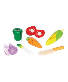 Garden Vegetables Play Set