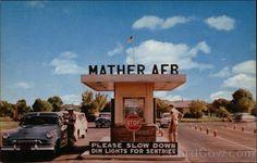 Another closed base-Mather Air Force Base - Entrance Gate | Sacramento, California