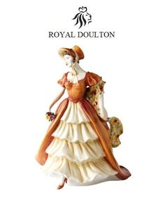 Royal Doulton Prestige Figurine Of The 2008 Year Lady Victoria May HN5131 New