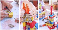 Engineering for Kids: Clay and Block Structures