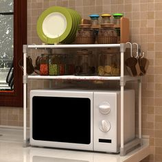 Enhance the beauty of your kitchen, adopt the good Microwave cart. These stands can be used in multiple ways a unique combination that serves home décor and usefulness. The cupboards are well suited to place necessary utensils and cutleries. However, these stands never gets disposed, can be used for other purposes later.  http://www.mybestbuypro.com/microwave-stand/