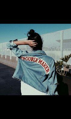 Vintage Clothes Trouble Maker Jacket
