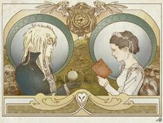 Really cool. | The Glamour of Evil: Art Nouveau Supervillains!