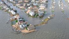 Flooding from Hurricane Sandy can be seen in this aerial U. Coast Guard photo showing Long Island, New York Hurricane Damage, Hurricane Sandy, Tornados, Apartment Hunting, Apartment Living, Renters Insurance, Ocean City Md, Long Island Ny, Fire Island
