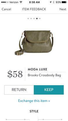 Moda Luxe, Brooks Crossbody Bag - October 2016, #StitchFix