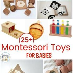 25 Best Montessori Toys for Babies - Natural Beach Living What Is Montessori, Montessori Baby Toys, Toddler Toys, Kids Toys, Best Baby Toys, Best Educational Toys, Toys For 1 Year Old, Kids Usa, Eco Friendly Toys