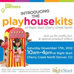 Little Partners and Right Start Cherry Creek Colorado November 17, 2012 #events #denver #kids