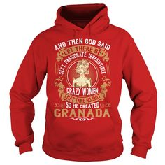 God Created GRANADA Women Name Shirts #gift #ideas #Popular #Everything #Videos #Shop #Animals #pets #Architecture #Art #Cars #motorcycles #Celebrities #DIY #crafts #Design #Education #Entertainment #Food #drink #Gardening #Geek #Hair #beauty #Health #fitness #History #Holidays #events #Home decor #Humor #Illustrations #posters #Kids #parenting #Men #Outdoors #Photography #Products #Quotes #Science #nature #Sports #Tattoos #Technology #Travel #Weddings #Women