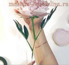 Мастер-класс по керамической флористике: Пион из полимерной глины