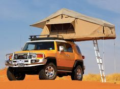 ARB Touring Range Simpson 3 Rooftop Tent [ARB3101US] - $1,497.29 : Pure FJ Cruiser Accessories, Parts and Accessories for your Toyota FJ Cruiser