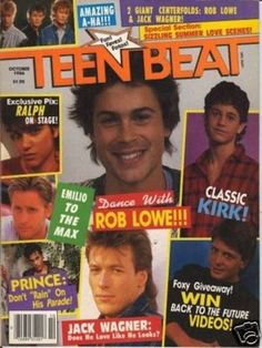 wow- One of my favorite magazines as a teen.