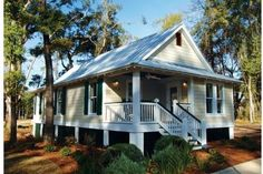 Place this on Lake Weir Cottage Style House Plan - 3 Beds 2  1025 Sq/Ft Plan #536-3 Photo - Houseplans.com