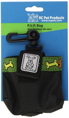 RC Pet Products Pick Up Poop Bag Carrier with Me Love Treats Pattern, Black * Check out this great product. (This is an affiliate link and I receive a commission for the sales)