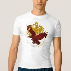 Vintage 1888 German Eagle with text Germania T-shirt - vintage gifts retro ideas cyo