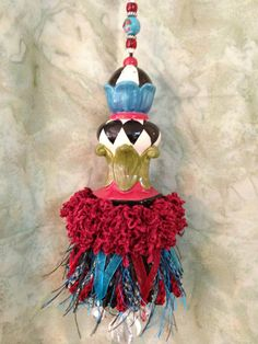 Decorative Whimsical Tassel 1 by JustHangingPretty on Etsy, $31.95