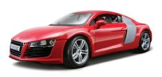 Maisto Audi R8 (Colors May Vary) by Maisto. $20.59. From the Manufacturer                1:18 Premier Edition Vehicles.                                    Product Description                The Audi R8 is Audi's high-performance supercar along the lines of its direct competitors, the Porsche 911 Carrera 4S, Aston Martin V8 Vantage and BMW M6. It was won a slew of awards since it was introduced, including several Car Of The Year awards. This diecast version from Maisto is ...