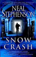"""Snow Crash by Neal Stephenson- """"In reality, Hiro Protagonist delivers pizza for Uncle Enzo's CosoNostra Pizza Inc., but in the Metaverse he's a warrior prince. Plunging headlong into the enigma of a new computer virus striking down hackers everywhere, he races along the neon-lit streets on a search-and-destroy mission for the shadowy virtual villain threatening to bring about infocalypse."""""""