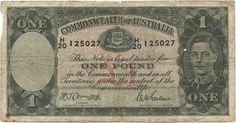 1 Pound 1942 (George VI) Australien Monarchie im Commonwealth of Nations