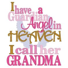 happy birthday in heaven grandma quotes | ... of 11022 i have a guardian angel in heaven call her grandma wallpaper