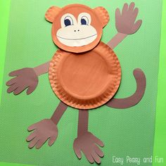 It's time for some monkey business! Let's do a paper plate monkey craft, it's fun and super silly! We've made a whole bunch of paper plate animal crafts already as paper plates are so handy to craft with! We really wanted to make something unique here and I think we've made it – this project has …
