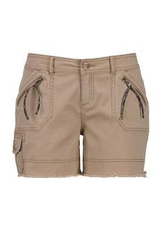Utility cargo short (original price, $29) available at #Maurices - major brown